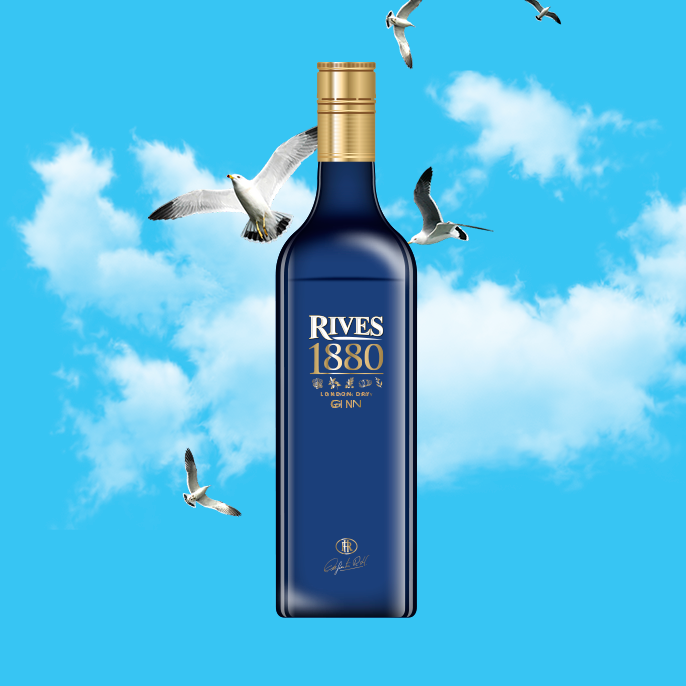 Rives Gin Premium 1880